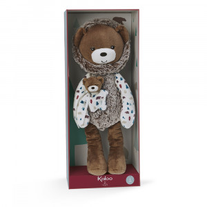 Peluche Pantin Ourson Gaston 40 cm