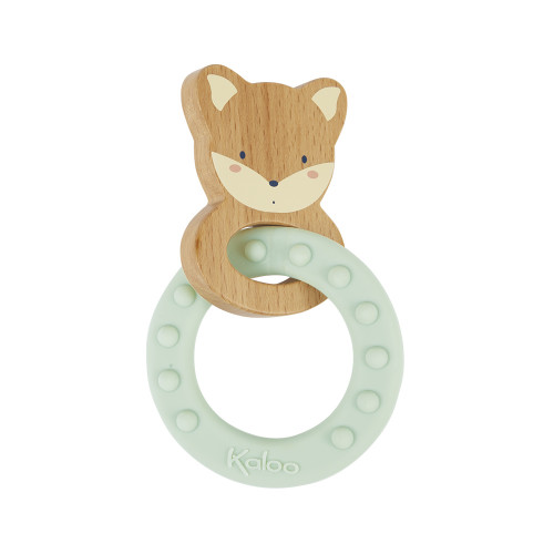 Fox model Teething rattle