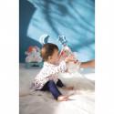 Doudou Marionnette Ourson Crème 20 cm