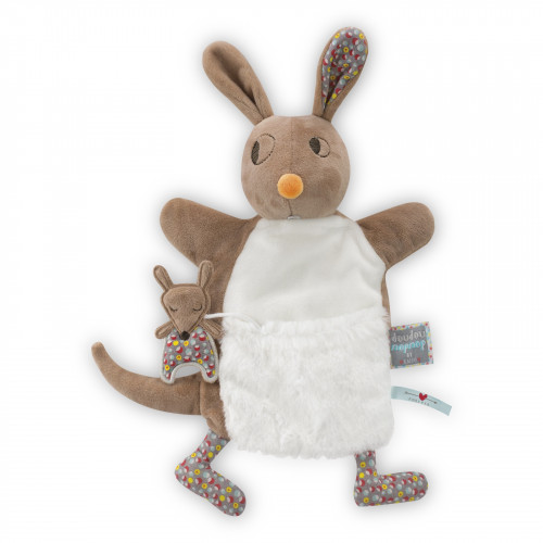 Jumpy Kangourou Doudou Marionnette 20 cm