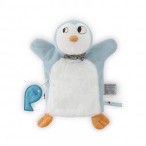 Ice Cream Pingou Doudou Marionnette 20 cm