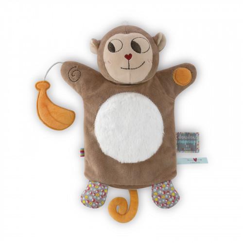 Banana Singe Doudou Marionnette 20 cm