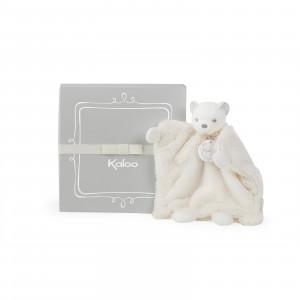Ours Doudou Marionnette Crème 20 cm