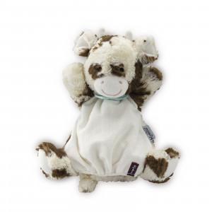 Milky Vache Doudou Marionnette 30 cm