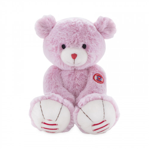 Peluche Ours Rose 31 cm