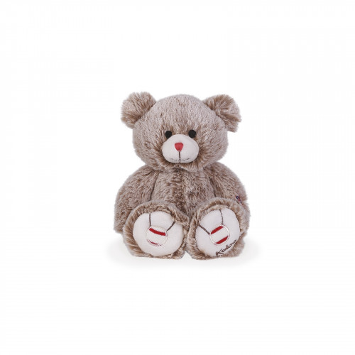 Peluche Ours Sable 22 cm