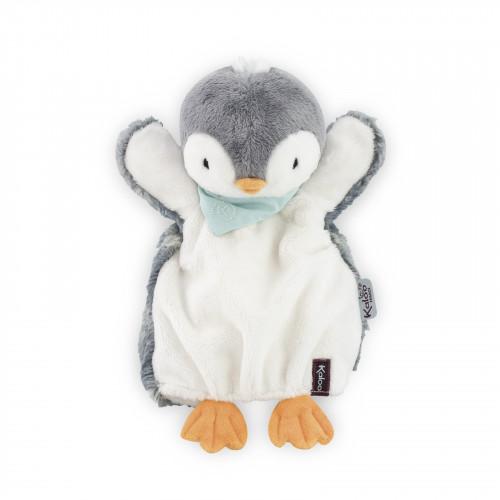 Pépit' Pingouin Doudou Marionnette 30cm