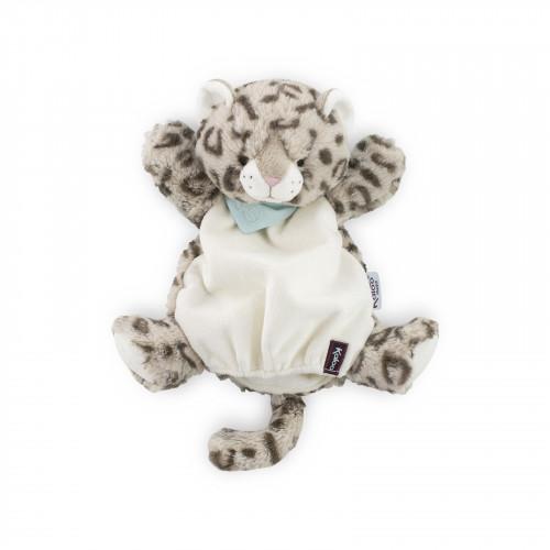 Cookie Léopard Doudou Marionnette 30 cm