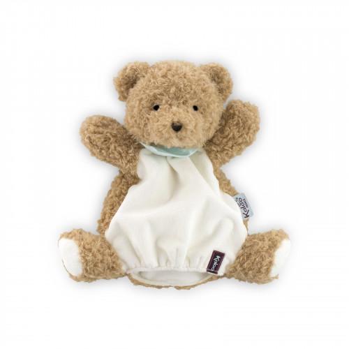 Miel Ourson Doudou Marionnette 30 cm