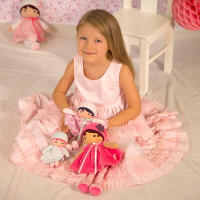 Un style et une  personnalité différents pour chaque poupée